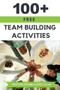 100 Free Team Building Activities