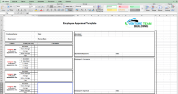 Employee Appraisal Template Word Doc