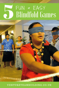5 Fun & Easy Blindfold Games