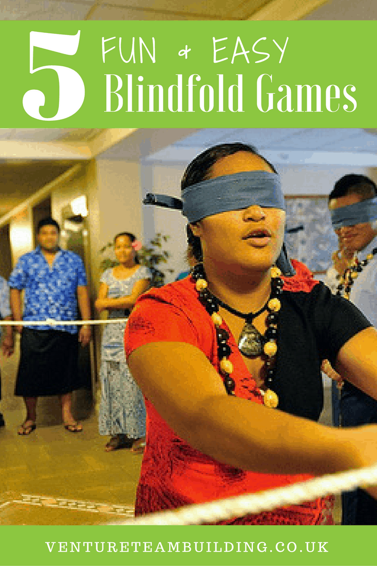 5 Fun Easy Blindfold Games