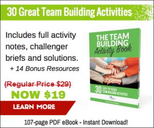 Over 30 Fun Team Building Activities