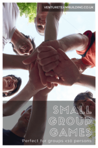 Small Group Games perfect of groups of less than 10 people