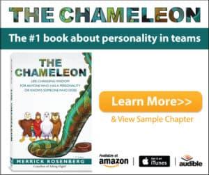 The Chameleon by Merrick Rosenberg