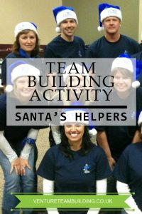 Santas Helpers Christmas Team Building Activity